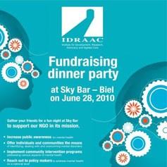 IDRAAC Fundraising Dinner Skybar 2010