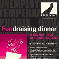 IDRAAC Fundraising Dinner-Sky Bar 2009