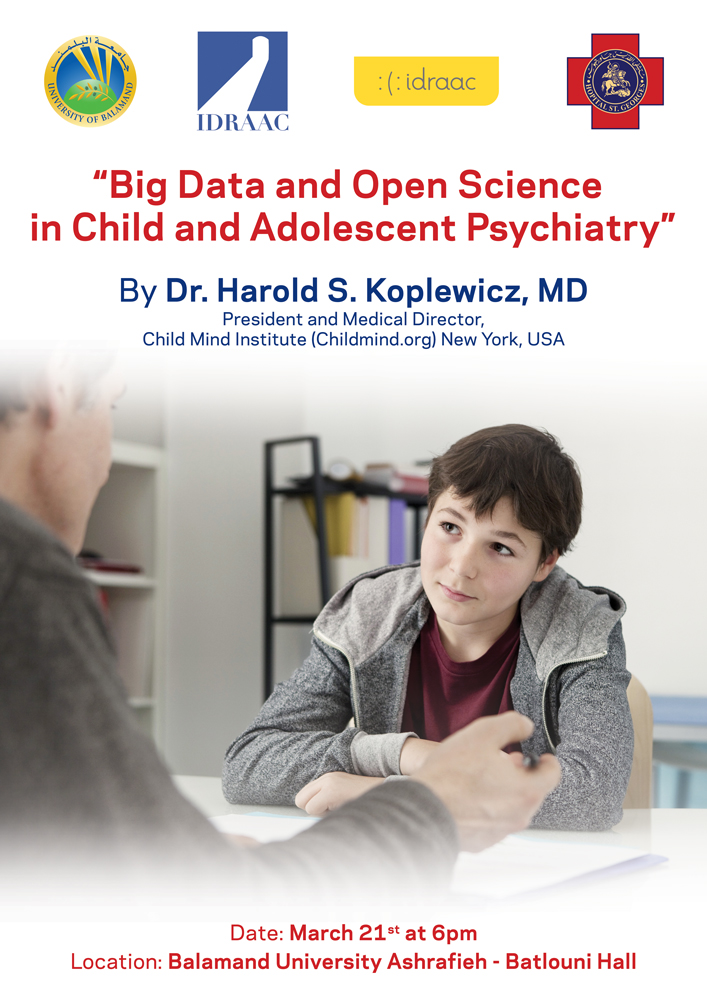 Big Data and Open Science in Child and Adolescent Psychiatry Conference