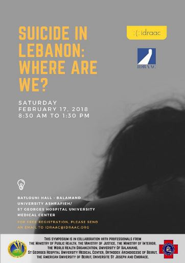 Suicide in Lebanon Symposium by IDRAAC