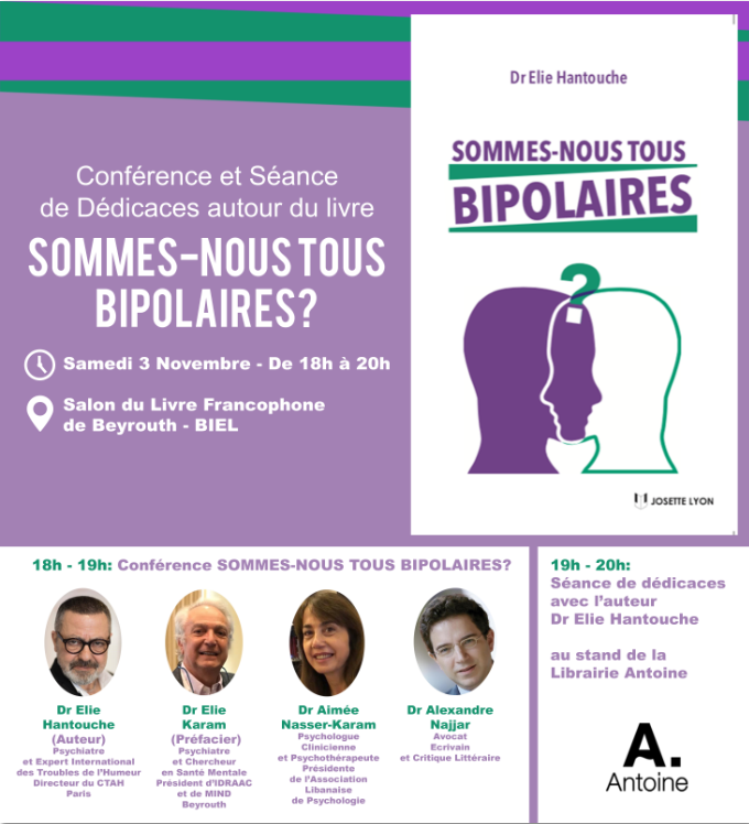 Sommes-nous Tous Bipolaires? Conference