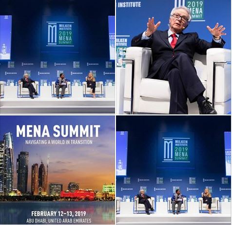 Milken Institute MENA Summit 2019