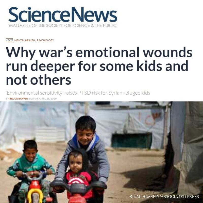 Why War's Emotional Wounds Run Deeper for Some Kids and Not Others?
