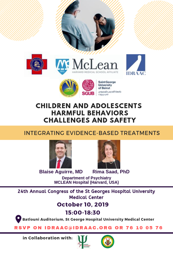 Children and Adolescents Harmful Behaviors: Challenges and Safety - Integrating Evidence-Based Treatments