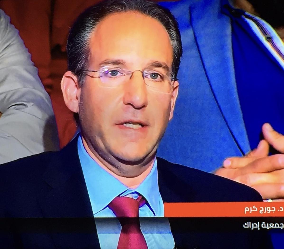 Intervention of Dr. Georges Karam on MTV Sar El Wakt  about Suicide