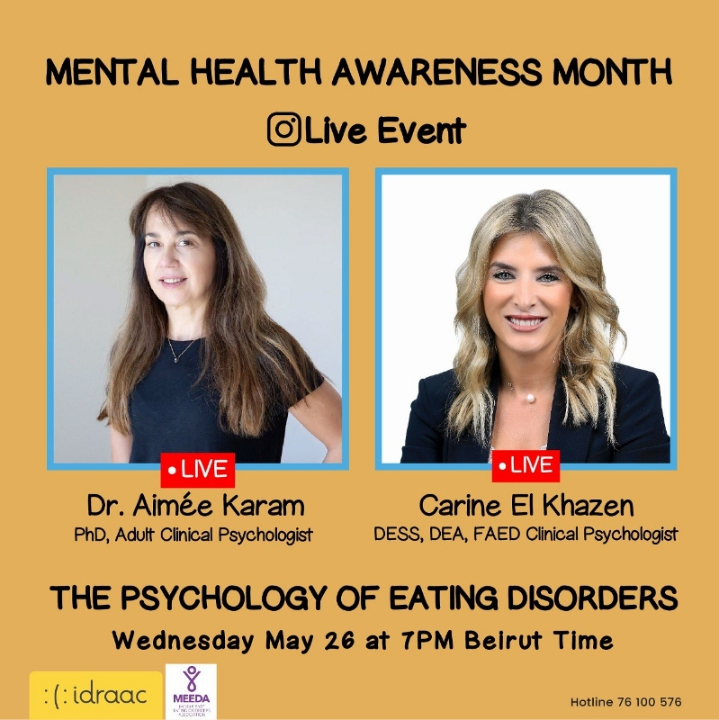 The Psychology of Eating Disorders - Instagram Live