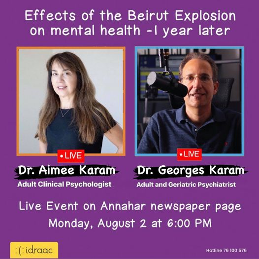 Effects of the Beirut Explosion - 1 Year Later