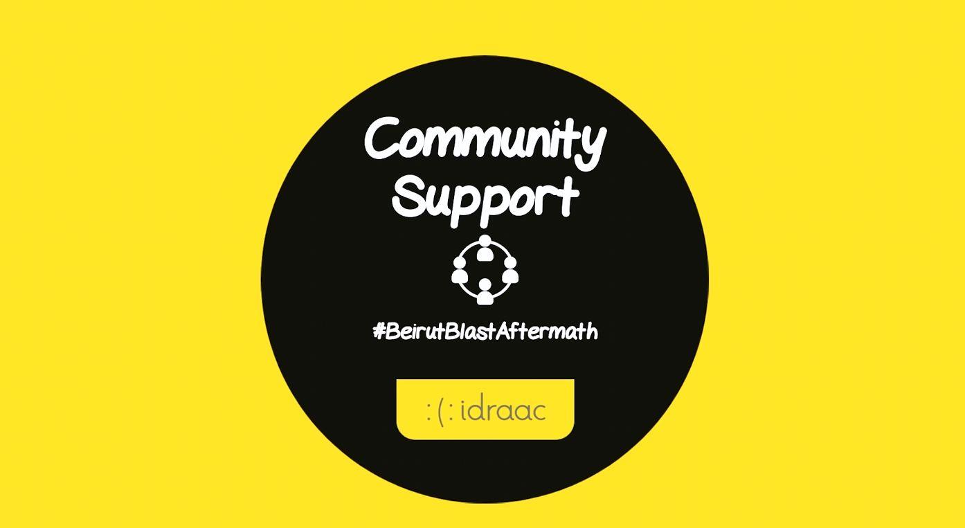 Community Support #BeirutBlastAftermath